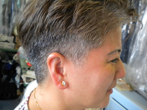 Older Women Hairstyle Short Is Chic Examples With Photos Slodive