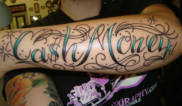 awesome lettering style 25 Tattoo Lettering Styles That Will Take Your Breath Away