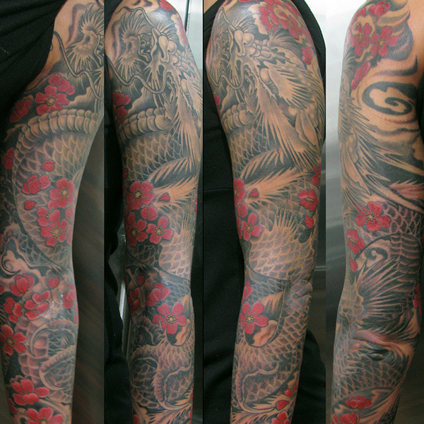 Inspirational Sleeve Tattoo