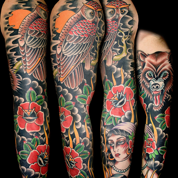 Japanese Sleeve Tattoo Designs