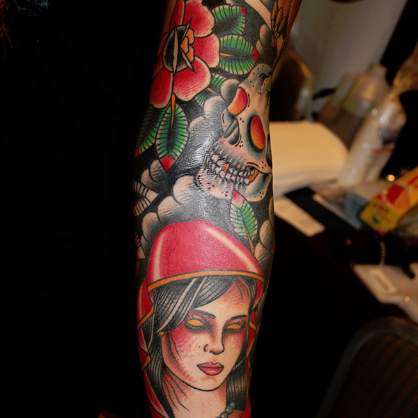 Cool Sleeve Tattoo