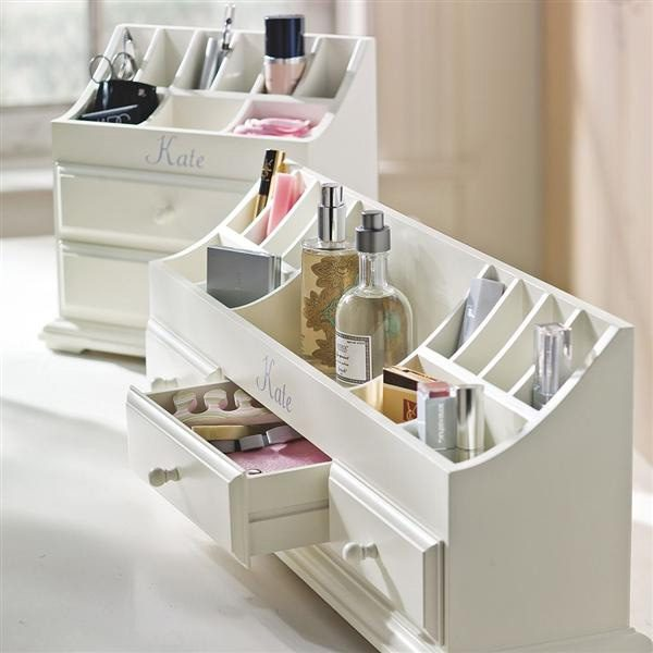 Beau Under Counter Makeup Organizer A Retro Idea For Women