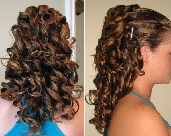 Curls All The Way