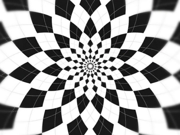 Symmetrical Designs 32 unique black and white patterns - slodive