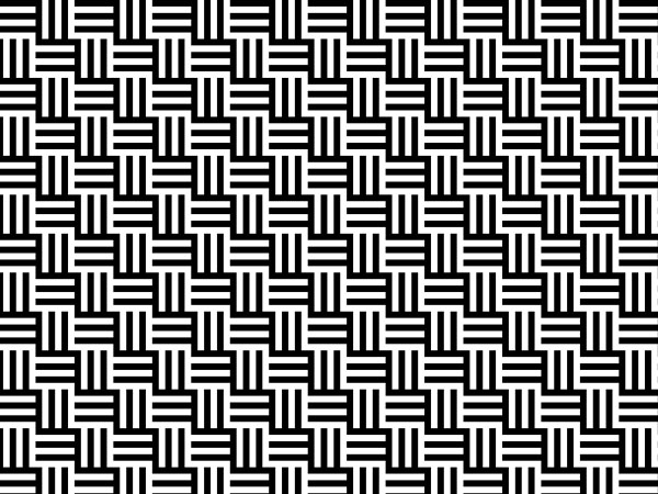 squares all over - Black And White Design