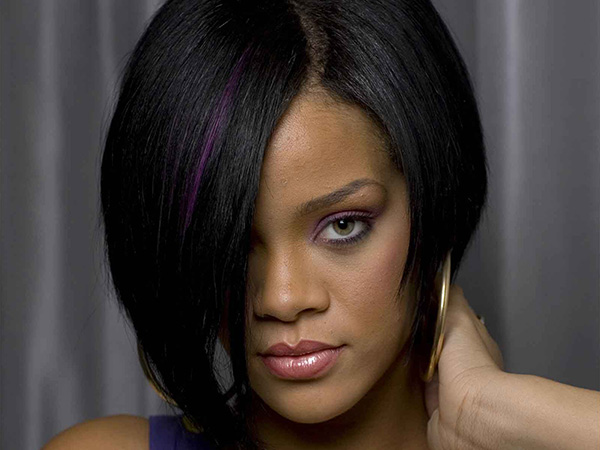 Straight Black Hairstyle