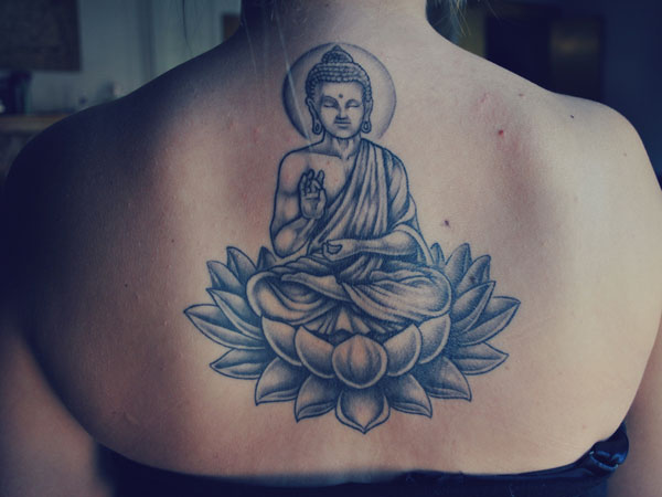 back 32 Spiritual Buddha Tattoo Designs
