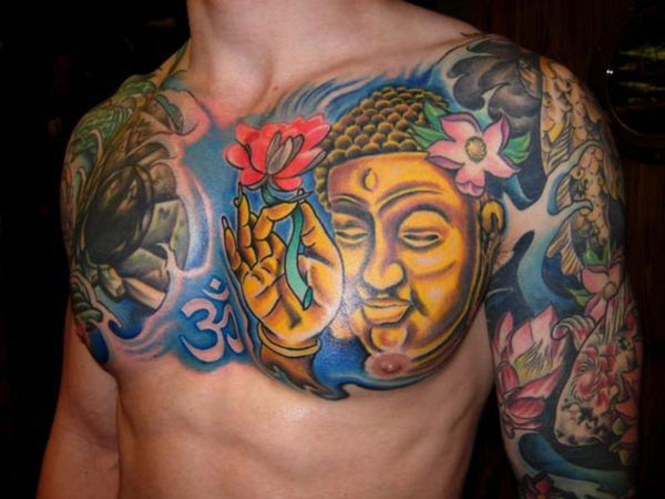 great 32 Spiritual Buddha Tattoo Designs