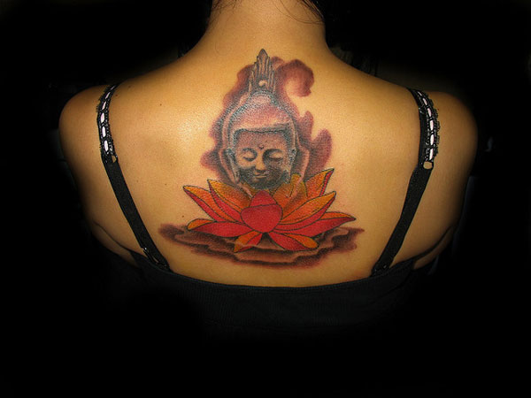 thai budha 32 Spiritual Buddha Tattoo Designs