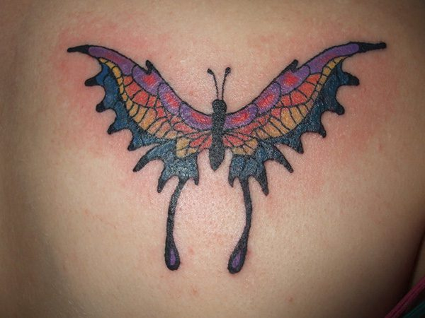 38 Bubbly Butterfly Tattoo Designs For Butterfly Lovers Slodive