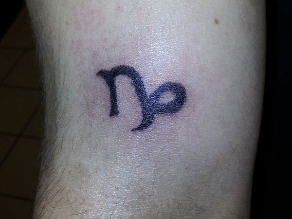 First Tattoo Capricorn