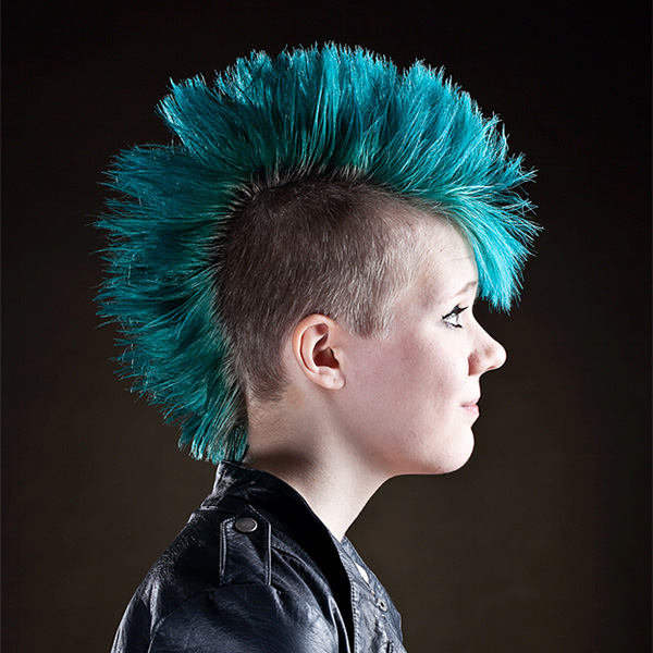 Tremendous Girl Mohawk Hairstyles Pictures 27090 Funny And Crazy Hai Short Hairstyles For Black Women Fulllsitofus