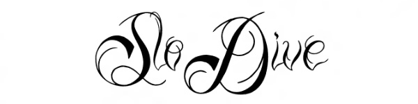 ready black 29 Excellent Cursive Fonts For Tattoos