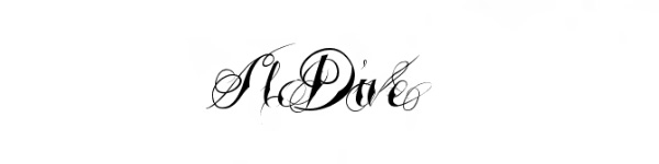 tattooed wedding 29 Excellent Cursive Fonts For Tattoos