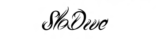 tribal script 29 Excellent Cursive Fonts For Tattoos