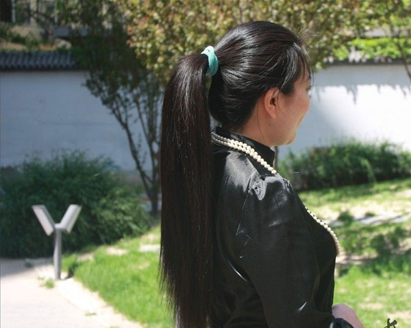 Long Luscious Ponytail
