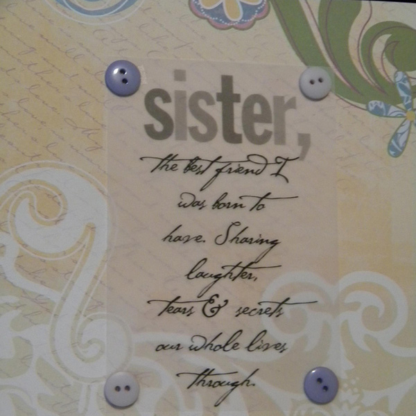 Cute Sister Quote