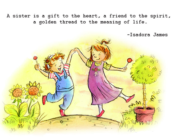 sister gift 25 Cute Sister Quotes You Will Definitely Love