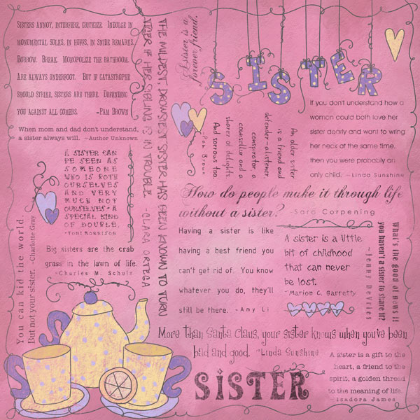 Sister Quotes - 25 Lovely Collections | Design Press