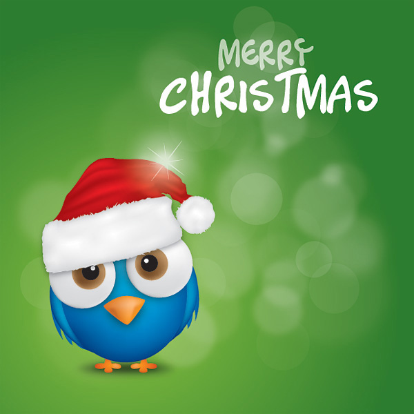 cute merry christmas 34 Cute Twitter Backgrounds You Can Use For Your Profile