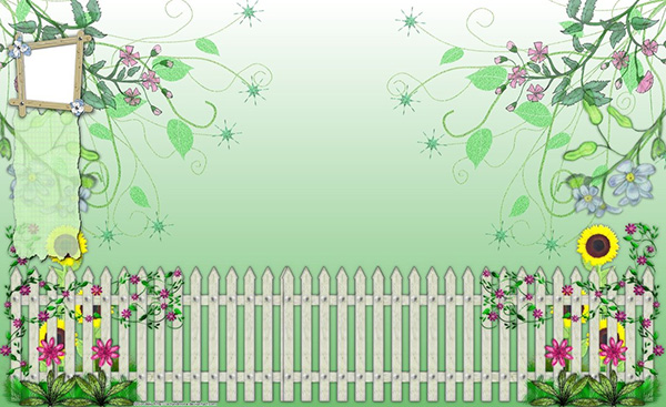 flower garden twitter background 34 Cute Twitter Backgrounds You Can Use For Your Profile