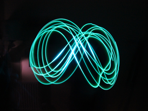 light writing 28 Memorable Double Infinity Symbol Designs