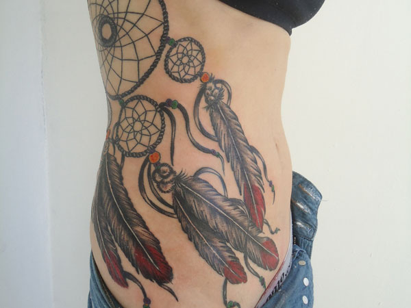 fabulous 27 Dreamcatcher Tattoo Designs That Cant Be Missed