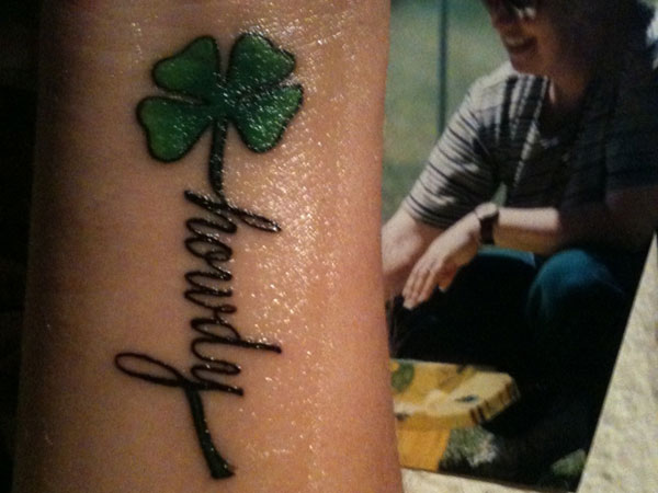 Four Leaf Clover Tattoos 32 Unique Collections Slodive