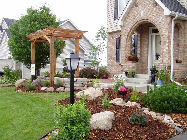 yard of happiness - Landscape Design Ideas For Front Yards