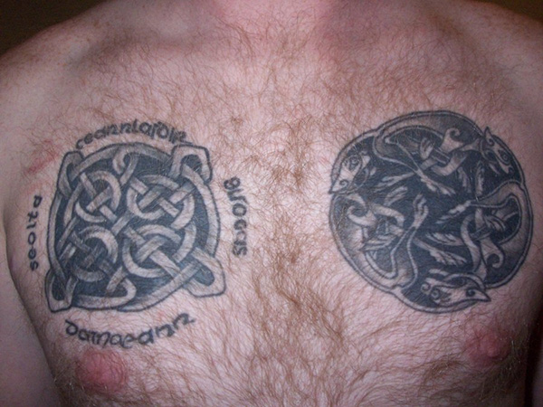 celtic chest tattoos 27 Incredible Gaelic Tattoos
