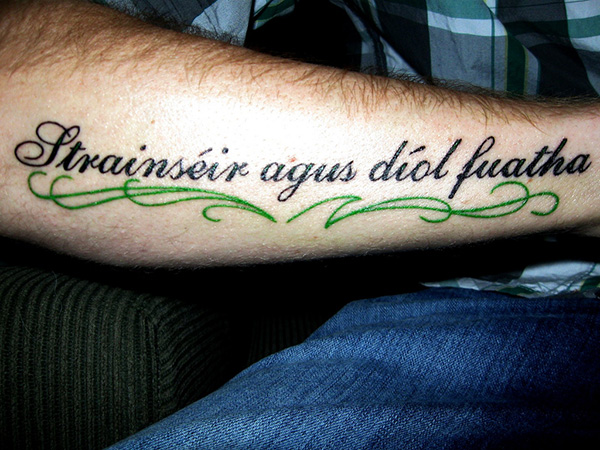 Irish Tattoo