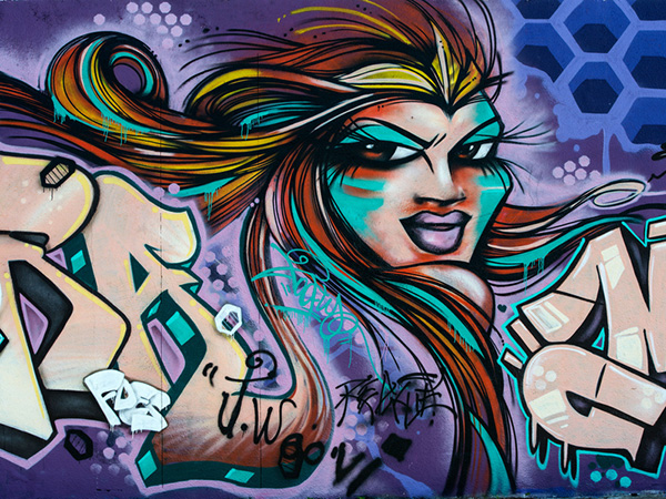 Lady Graffiti