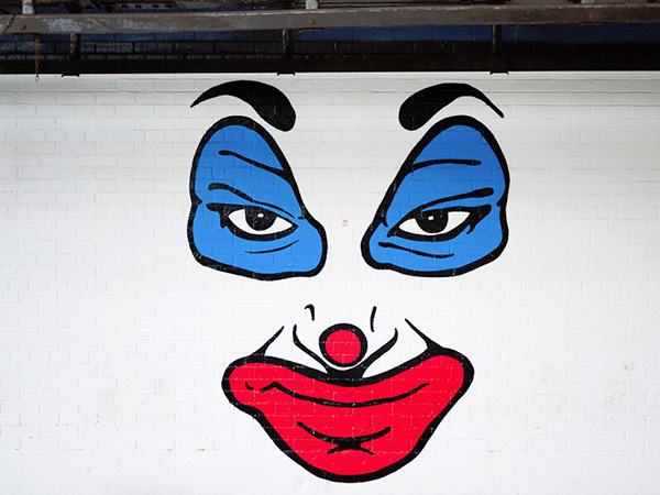 Funny Face Graffiti