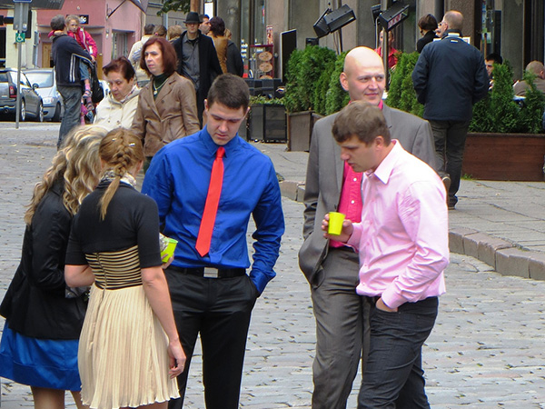 Wedding Guests In Tallinn Estonia