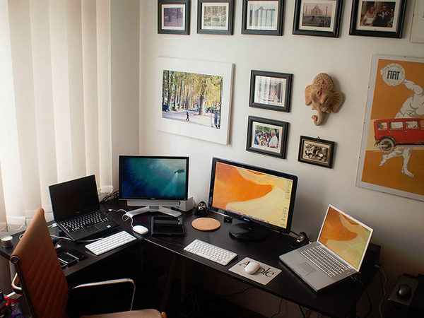 office at home. Sophisticated And Personal Office At Home