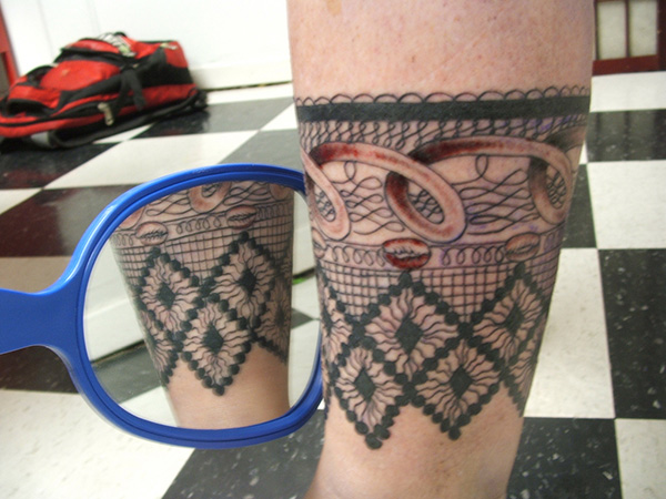 Lace Loops Tattoo