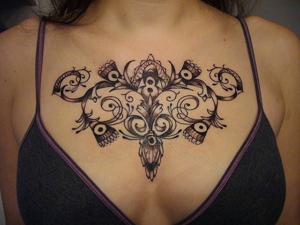Symmetry Lace Design