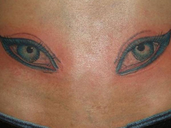 The Eyes Tattoo