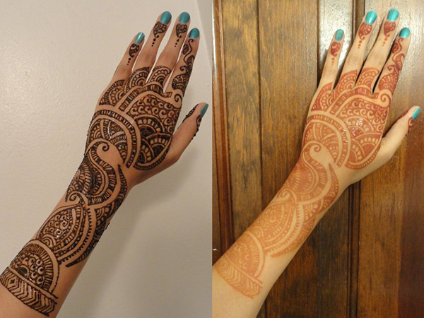 Mehndi Application Design