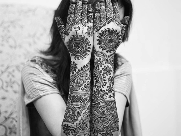 The Beautiful Bridal Mehndi