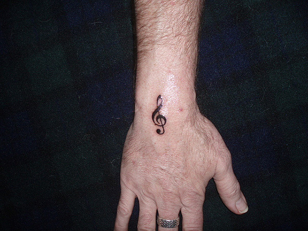 Musical Note Tattoo
