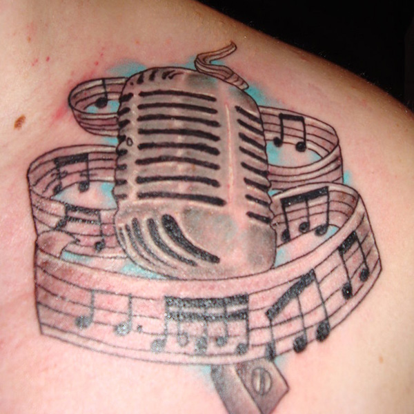 Mike Music Tattoo
