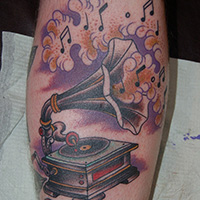 26 Charming Music Tattoos For Guys