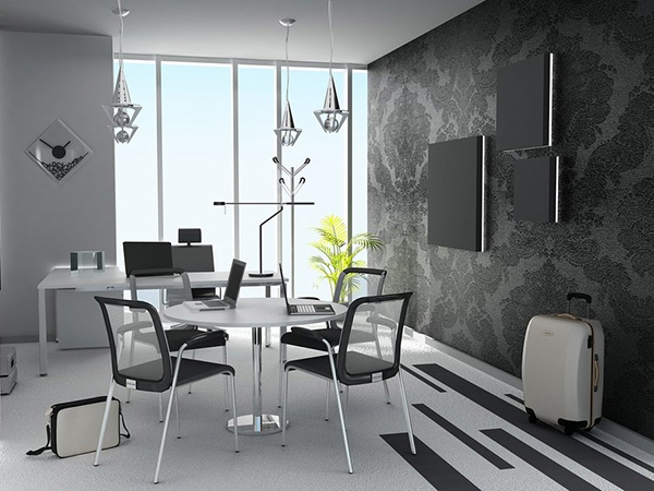 black and white office decor. Black And White Office 32 Astounding Decorating Ideas  SloDive
