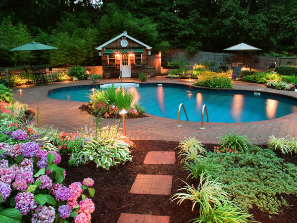 Outdoor Pool Landscaping Ideas Pdf