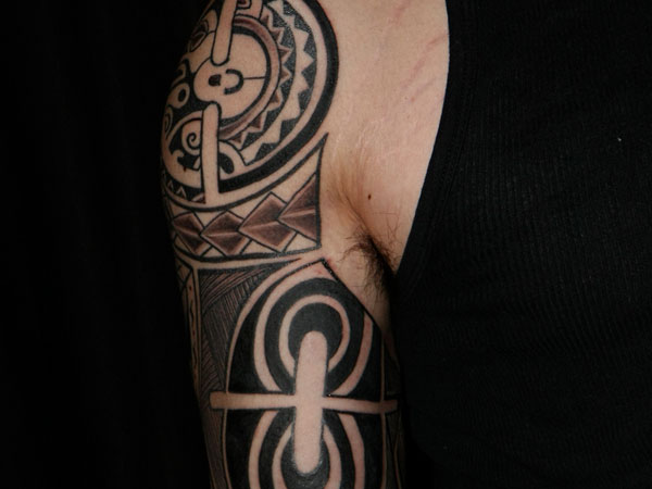 Beautiful Tattoo In Black
