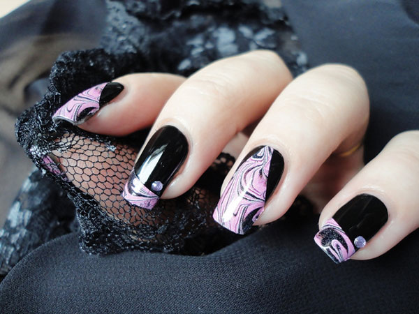 28 pretty nail designs which are fancy as well dark fantasy prinsesfo Choice Image