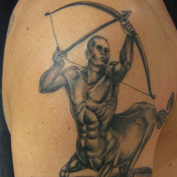 Splendid Sagittarius Tattoo