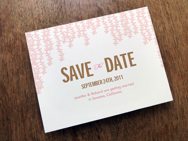 brawn color 31 Lovely Save The Date Templates