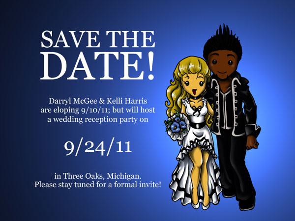 darkblue 31 Lovely Save The Date Templates